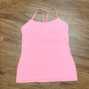Lulu lemon power Y tank, great condition